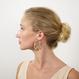Frances Earrings in Calico