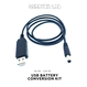 USB BATTERY CONVERSION KIT