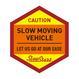 SLOW MOVING VEHICLE ステッカー/マグネットタイプ(1枚)