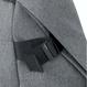 夏セール☆Men's Fudge掲載商品【27701】★ ISAR  ECO YARN - Black Melange  (L size)   Cote&Ciel コートエシエル リュックサック