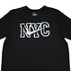 "【日本未発売】NIKE ""NYC"" T-Shirts (Black / Reflector)"