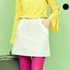 ハーフWラインスカート