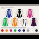 【カラーオーダー】WHラインドレス-ミニ丈-②