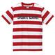 Start Line Border T-shirt(Red)
