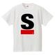 S Logo active T-shirt(White)