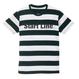 Start Line Border T-shirt (Black)
