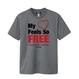 【残り2点】FREE Active T-shirt/フリーアクティブTシャツ(Gray/グレー)キッズ