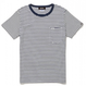 Lee with SL Pocket Border T-shirt/リーウィズポケットボーダーTシャツ(Navy/ネイビー)  ウィメンズ