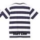 Message Border Kids T-shirt(Navy)