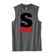 【残り2点】Big S Active No-sleeve/ビッグエスノースリ(Gray/グレー)