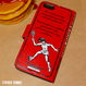 iPhone case book type<TENNIS PLAYER BOOK>