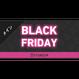 メインビジュアル素材| 940×400px BLACK FRIDAY