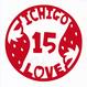 丸型シリーズ【ICHIGO15LOVE】6cm版
