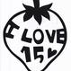 ワンポイントシリーズ【I LOVE 15ハート】12cm版