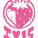 ロゴマークシリーズ【ラベルのIハート15】6cm版