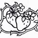 影絵シリーズ【挿絵のいちご(横型)】9cm版