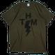 【THE HARD MAN】   Thunder Bolt Tee     2color