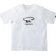 SUSU 刺繍ロゴTシャツ WHITE