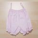 ベイビー用ピンクのスモッキング刺繍ワンピースとパンツのセット70cm