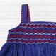 ドット柄がかわいいスモッキング刺繍ワンピース(90-95cm)