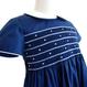 星のスモッキング刺繍ワンピース(110cm)