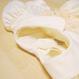 薔薇とひし形模様のスモッキング刺繍ワンピース(100cm)