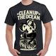 """""""Clean Up the OCEAN"""" Tee / Black"""