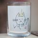 川上麻衣子 手彫りグラス「感謝のねこ」