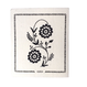 キッチンワイプ刺しゅう柄 花