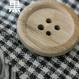 【細かなチェック柄が人気】 fanageコットン100% スペック染めワッシャー加工生地/1m