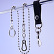"""""""C.M.S""""  BALL WALLET CHAIN"""