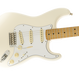Fender Jimi Hendrix Stratocaster® Maple / Olympic White ( 0885978648870 )