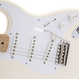 Fender Jimmie Vaughan Tex-Mex™ Stratcaster® Maple / Olympic White ( 0717669017552 )
