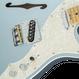 Fender American Elite Telecaster® Thinline Mystic Ice Blue / Maple ( 0885978649754 )