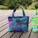 Mini tote Bag 「YAMANAMI」purple