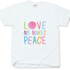 "No Nukes T-shirt ""Colours"" for kids"