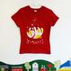 ニャンコTシャツ 女性用S〜M