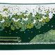 【博多織ブックカバー】特急ゆふいんの森 (緑)【TA003】