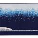 10月5日以降発送<博多織ブックカバー>九州新幹線新800系(青)【TA002】