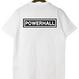 """長州力""""POWERHALL"""" tee-shirt(white)"""
