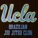 """[UCLA]""""UCLA BJJ"""" ドライメッシュTシャツ(黒)"""