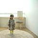 ★再々々入荷★【送料無料】geometric one-piece (beige)