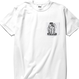 S/S ポケット TEE 「TIME BOMB」-WHITE