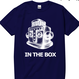 S/S TEE -「IN THE BOX」-NAVY