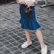デニム マーメイドスカート (100㎝~140㎝)