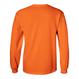 EMBROIDERY LOGO L/S TEE - Fluorescent Orange