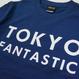 TOKYO FANTASTIC ブランドロゴ Tシャツ (紺)