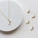 あこや真珠:babypearl×initial necklace
