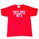 TOKYO SHOCK BOYS T-SHIRTS  RED