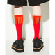 FACETASM  SKATER LAYERED SOCKS  red